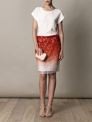 Missoni Degrade sequin skirt