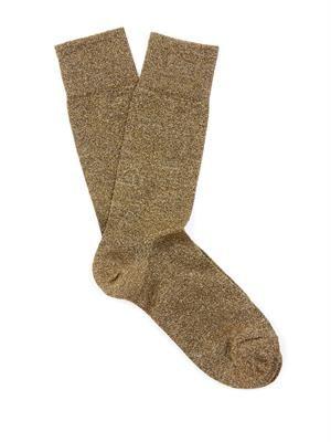 Yiley metallic socks