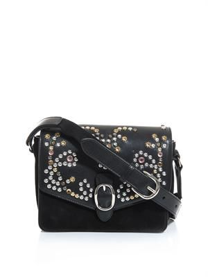 Elvis suede studded bag