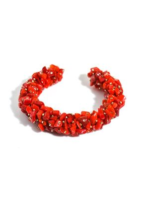 Palace hotel cluster bead bangle