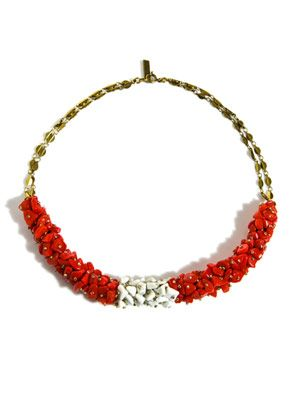 Palace Hotel clusted bead necklace