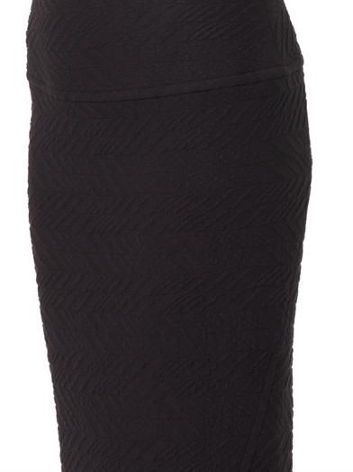 Iro Kaya jacquard-jersey pencil skirt