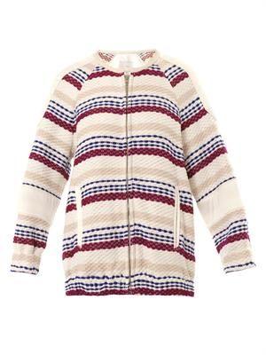 Axel textured bomber jacket