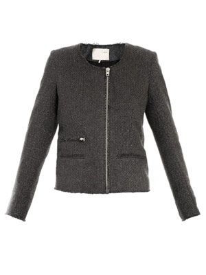 Julianne collarless jacket