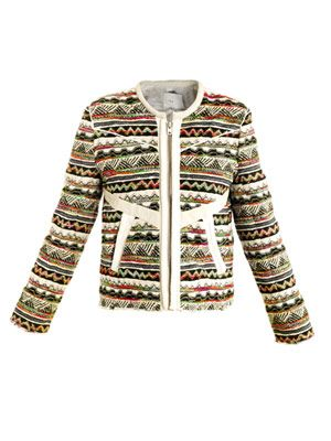 Aztec tweed jacket
