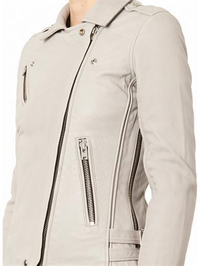 Iro Tara leather biker jacket