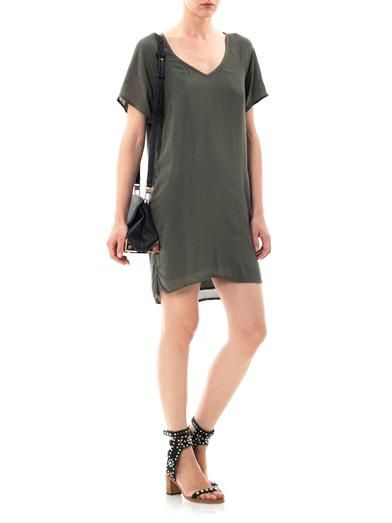 James Perse Oversized chiffon dress