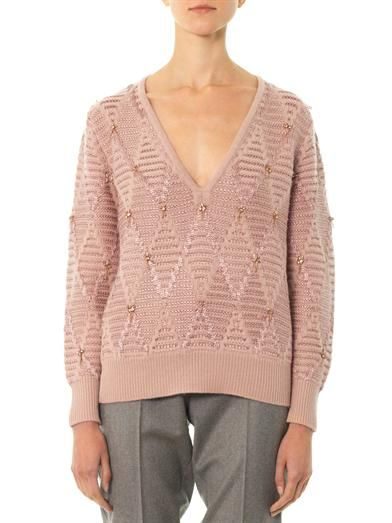 Thakoon Addition Diamond knit sweater