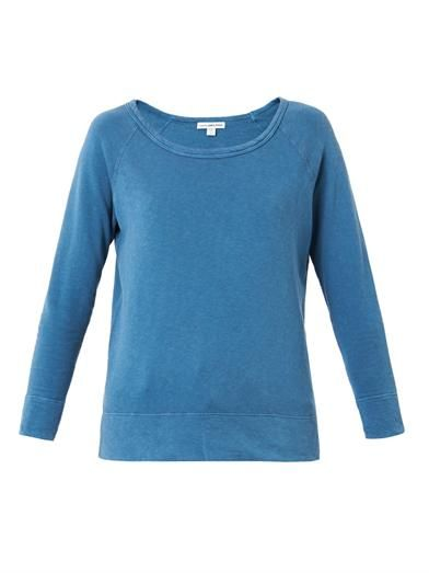 James Perse Cotton-jersey sweatshirt