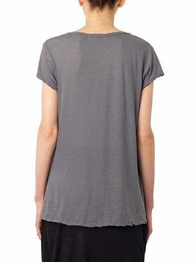 James Perse Scoop-neck T-shirt