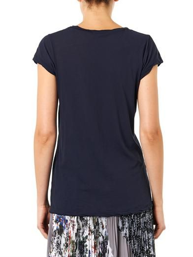 James Perse Scoop-neck T-shirt