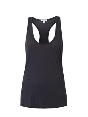 Cotton-jersey tank top