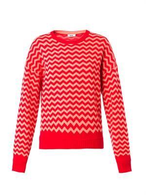 Rudi zigzag cashmere sweater