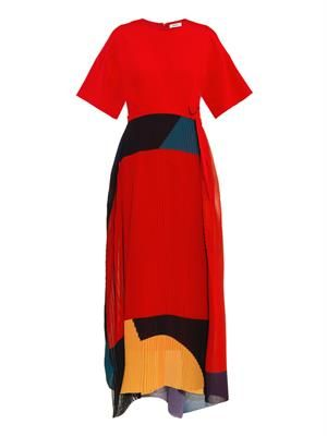 Gabriella colour-block dress