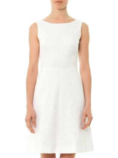 Issa Broderie anglaise dress