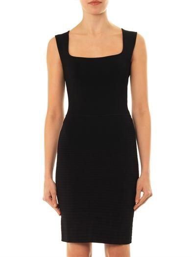 Issa Ribbed body-con dress