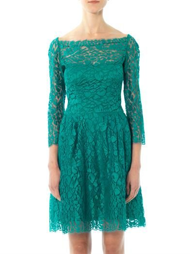 Issa Lace long sleeved dress