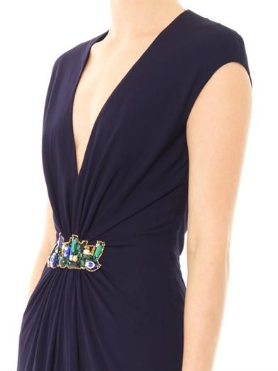 Issa Embellished gown