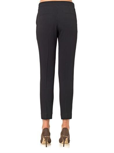 Issa Rita twill trousers