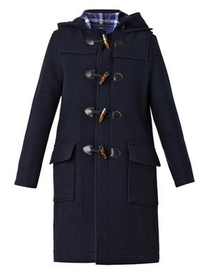 Paddington wool duffle coat