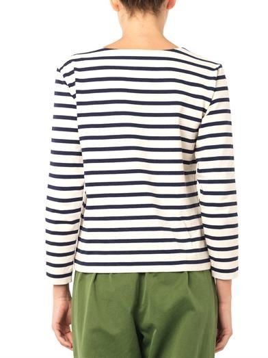 Marc by Marc Jacobs Breton stripe cotton-jersey top