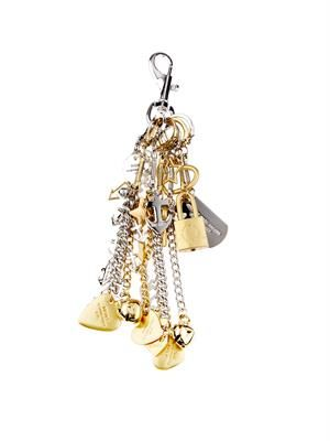 Multi-charm key ring