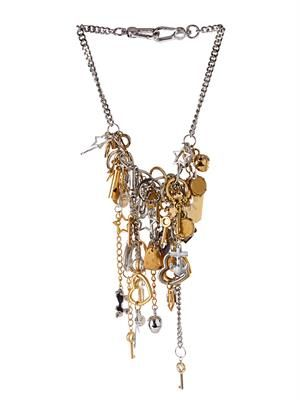 Multi-charm necklace