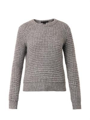 Walley waffle-knit sweater