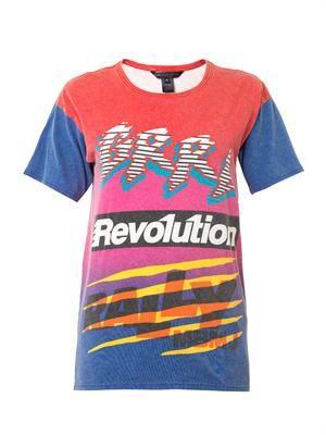 Ryder motocross-print T-shirt