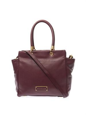 Too Hot to Handle leather tote