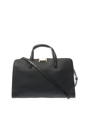 In The Grain leather tote