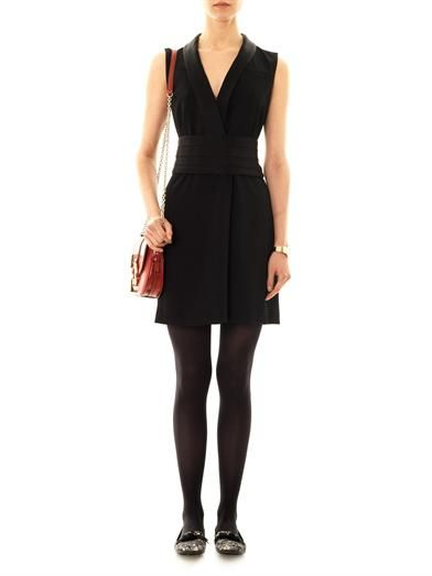 Marc by Marc Jacobs Anya crepe sleeveless dress