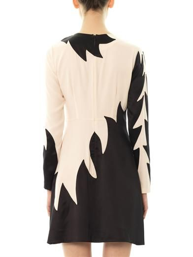 Marc by Marc Jacobs Bi-colour flame shift dress