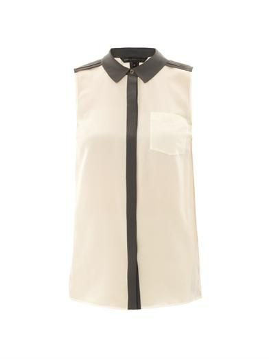 Marc by Marc Jacobs Frances colour-block shirt
