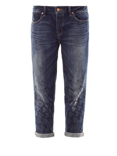 Marc by Marc Jacobs Hartley high-rise cropped boyfriend jeans