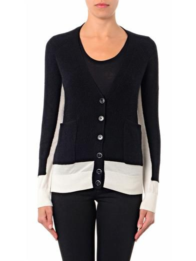 Marc by Marc Jacobs Bella silk and cashmere-blend cardigan