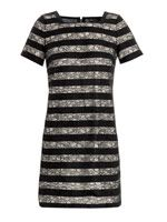 Lucienne lace stripe dress