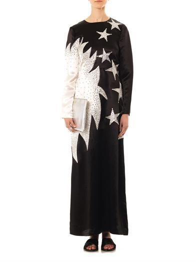 Marc by Marc Jacobs Cosmo Night satin gown