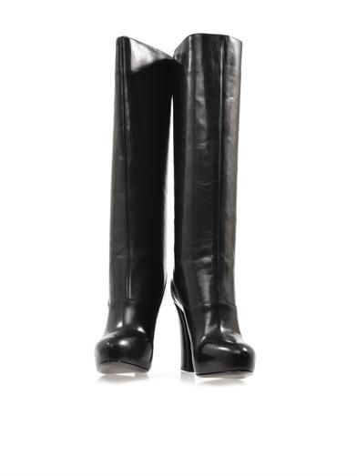 Marc by Marc Jacobs Maja leather knee-high boots