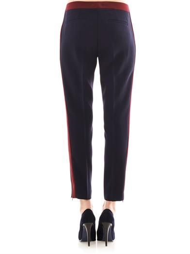 Marc by Marc Jacobs Sparks contrast-stripe trousers