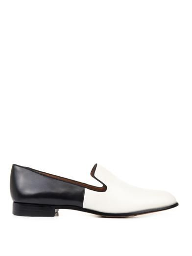 Marc by Marc Jacobs Clean Sexy bi-colour leather loafers