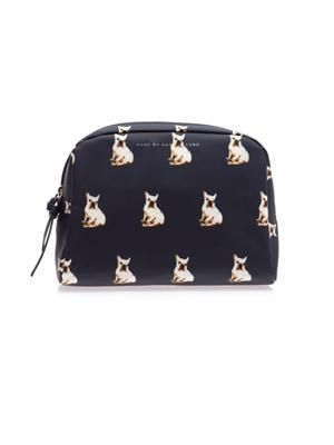 Jet Set Pets cosmetic pouch