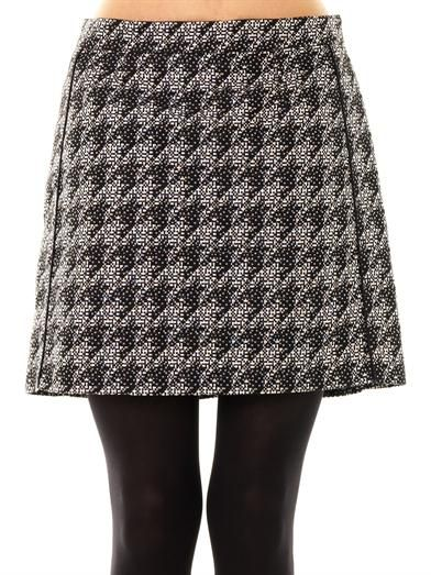 Marc by Marc Jacobs Houndstooth mini-skirt