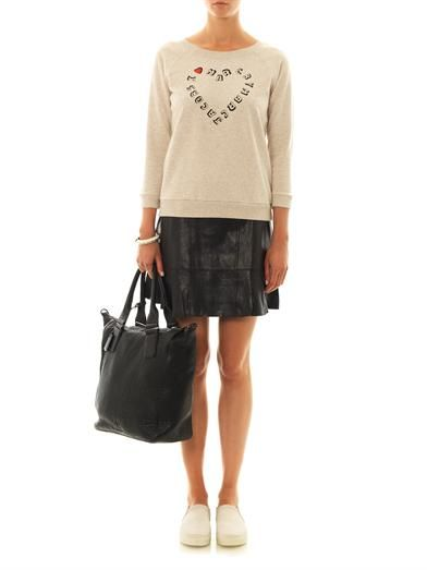 Marc by Marc Jacobs Karlie leather skirt