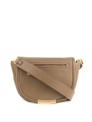 Luna leather cross-body bag