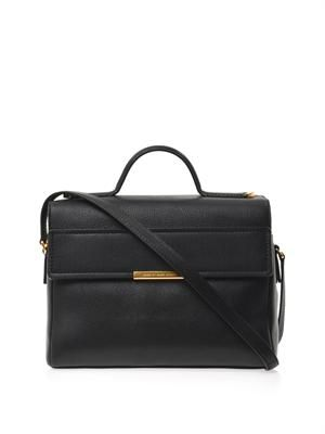 Diana leather satchel