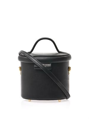 Allegra leather box bag