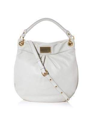 Hillier leather hobo bag