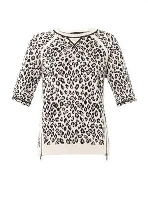 Sasha leopard sweater