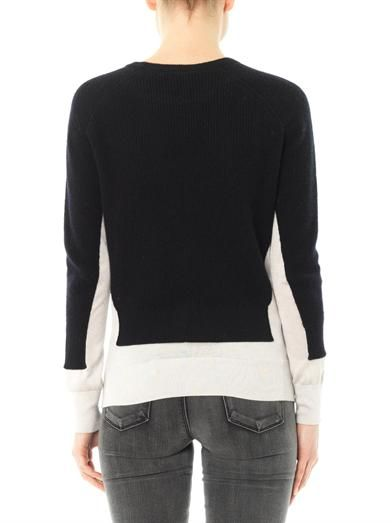 Marc by Marc Jacobs Bella bi-colour sweater